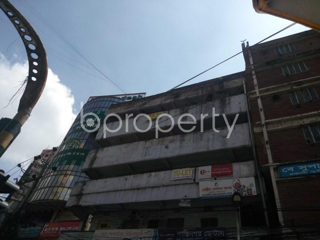 Front view - Office to Rent in Shantinagar, Dhaka - 1916655