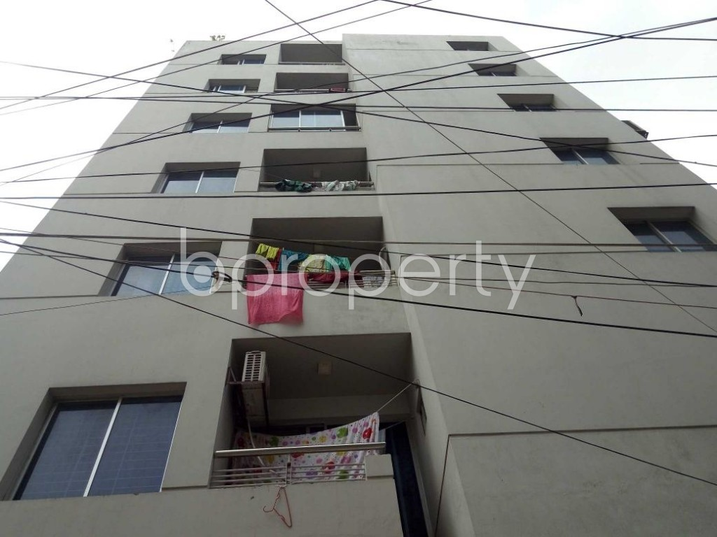 Front view - 3 Bed Apartment for Sale in Tejgaon, Dhaka - 1916709