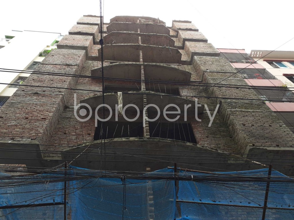 Front view - 3 Bed Apartment for Sale in Mohammadpur, Dhaka - 1916722