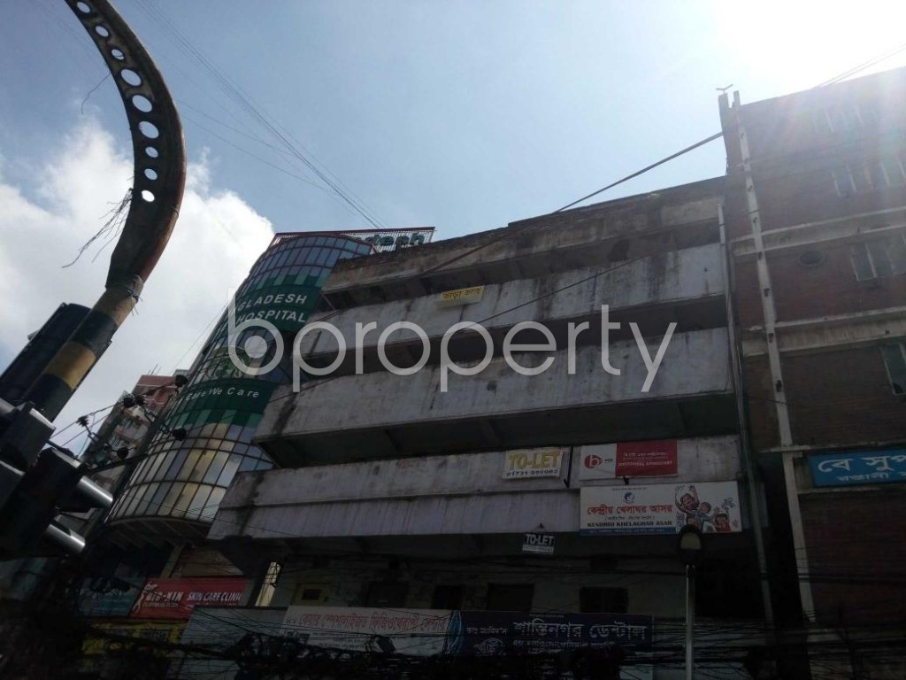 Front view - Office to Rent in Shantinagar, Dhaka - 1916732