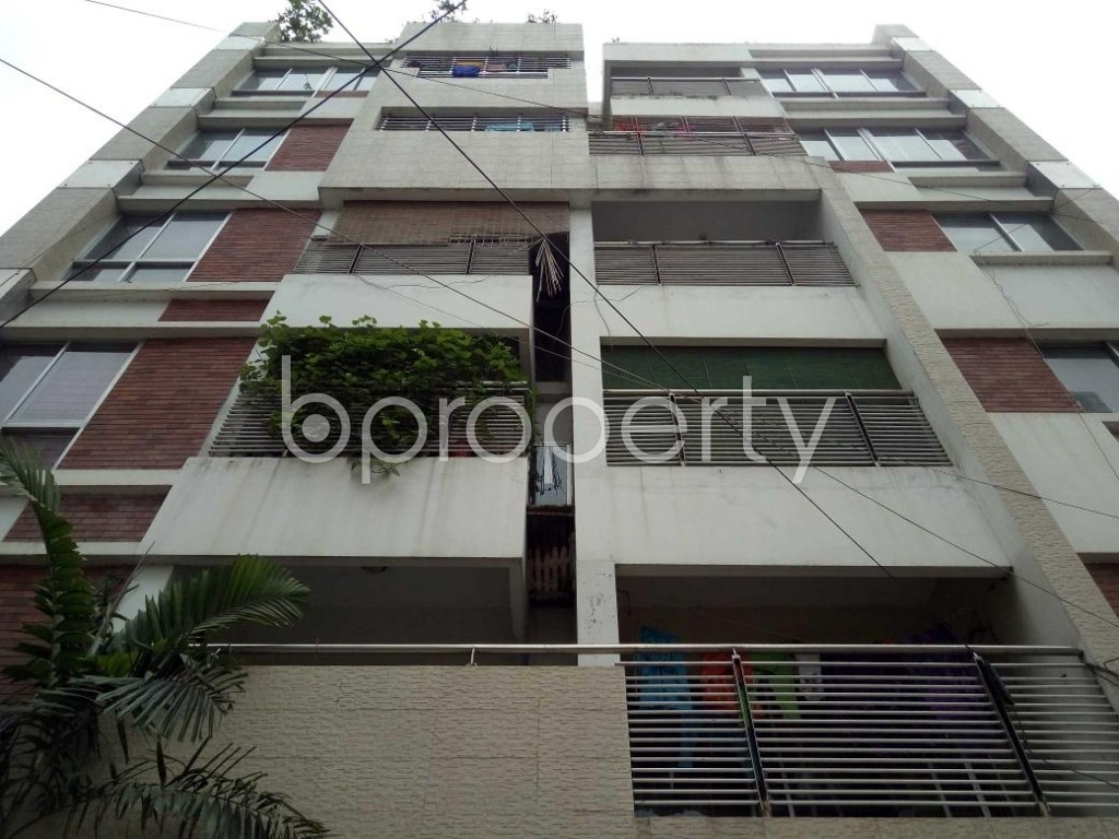 Front view - 3 Bed Apartment for Sale in Uttara, Dhaka - 1916926