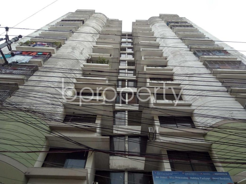 Front view - 3 Bed Apartment for Sale in Uttara, Dhaka - 1916930