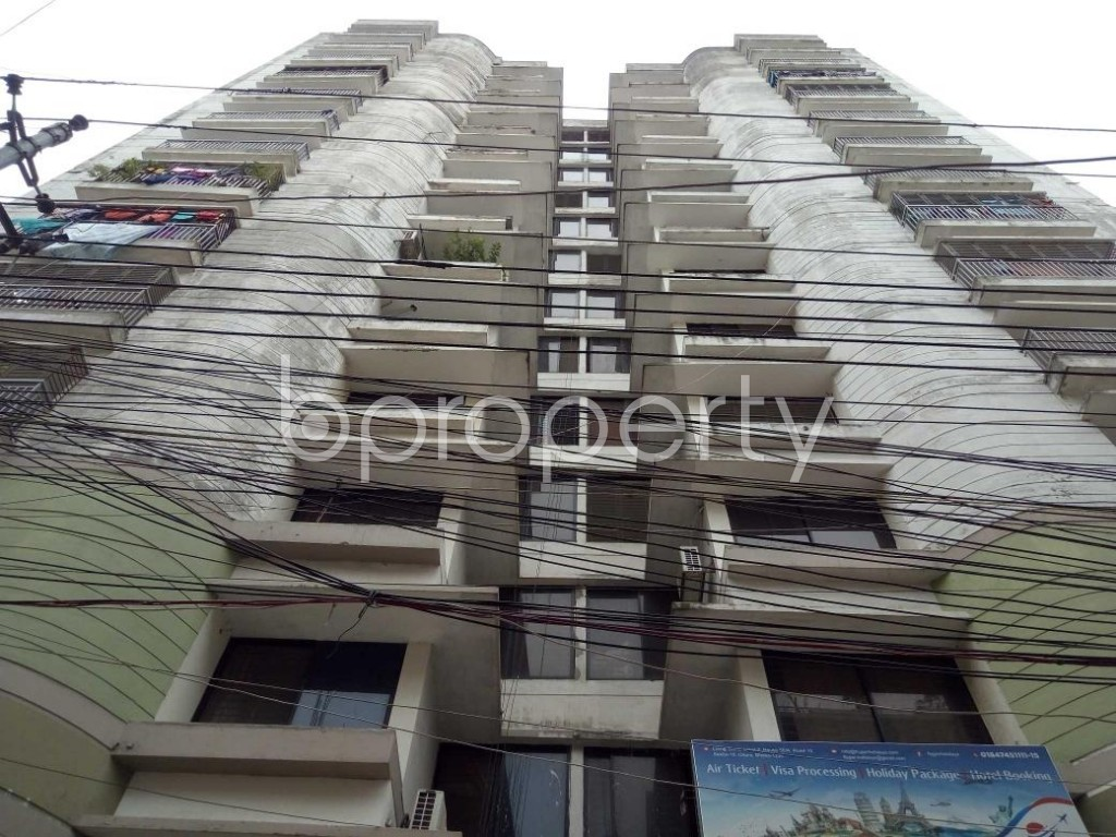 Front view - 3 Bed Apartment for Sale in Uttara, Dhaka - 1916962