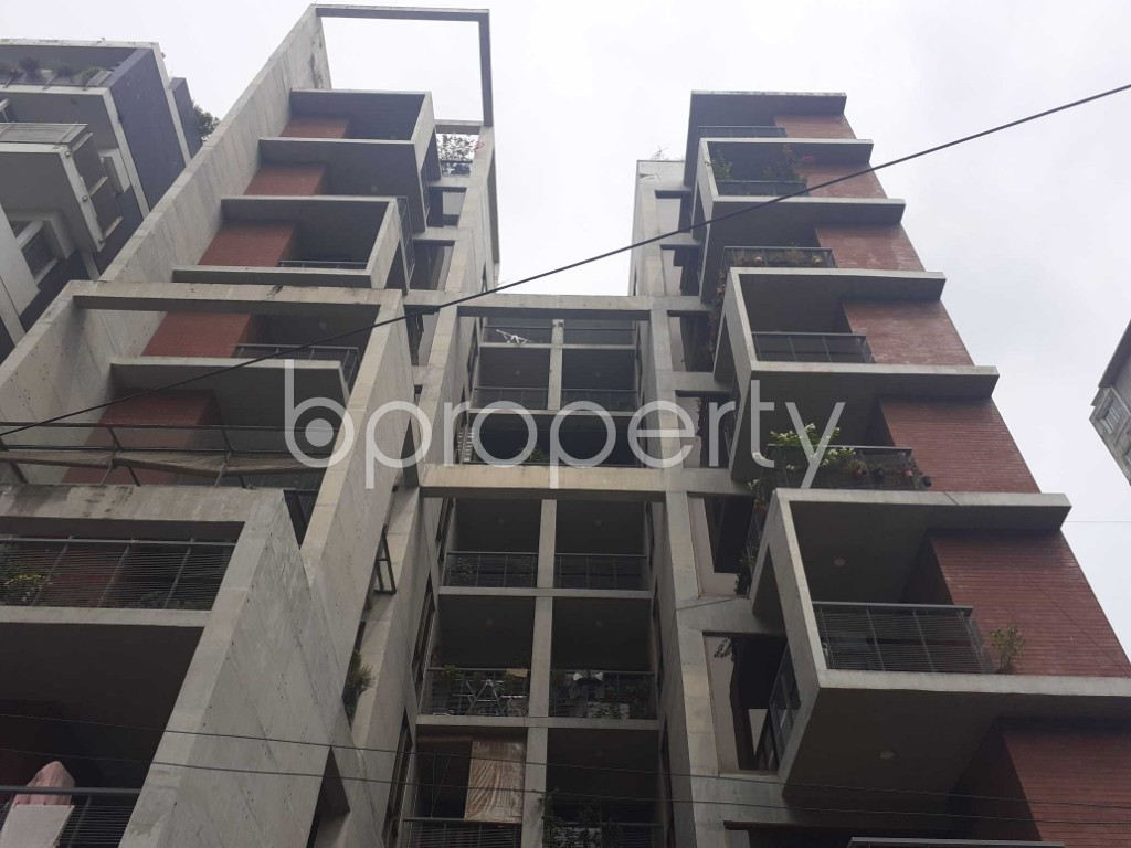 Front view - 3 Bed Apartment for Sale in Banani, Dhaka - 1916975