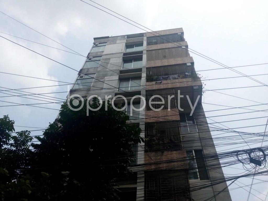 Front view - 3 Bed Apartment for Sale in Uttara, Dhaka - 1917000
