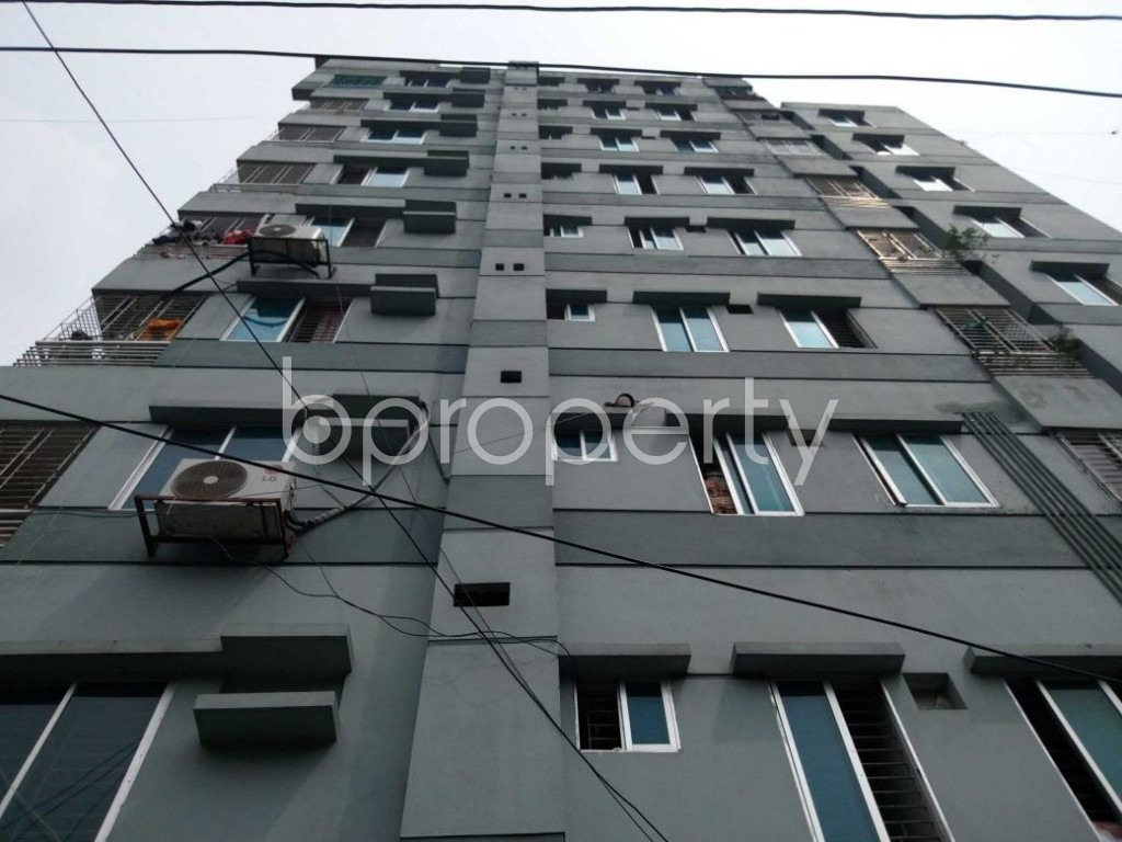 Front view - 3 Bed Apartment to Rent in Nadda, Dhaka - 1917020