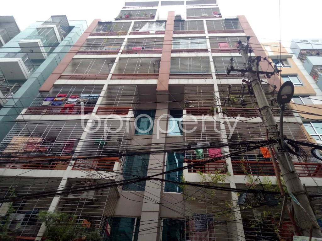 Outside view - 3 Bed Apartment for Sale in Maghbazar, Dhaka - 1917047