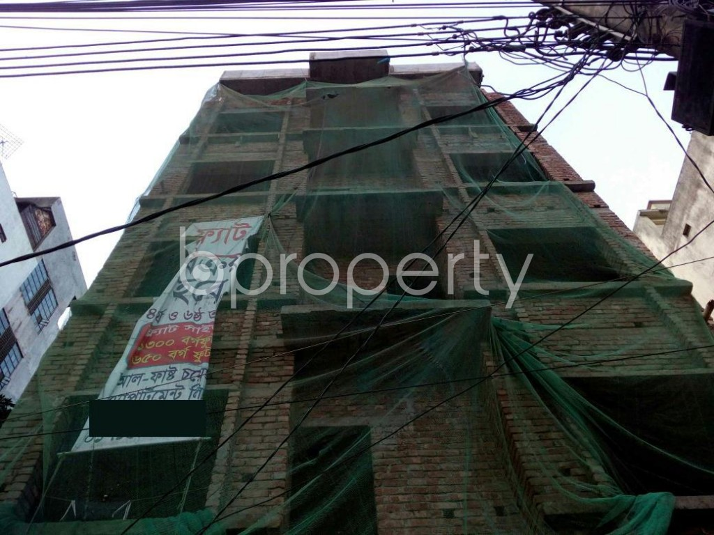 Front view - 2 Bed Apartment for Sale in Mirpur, Dhaka - 1917122