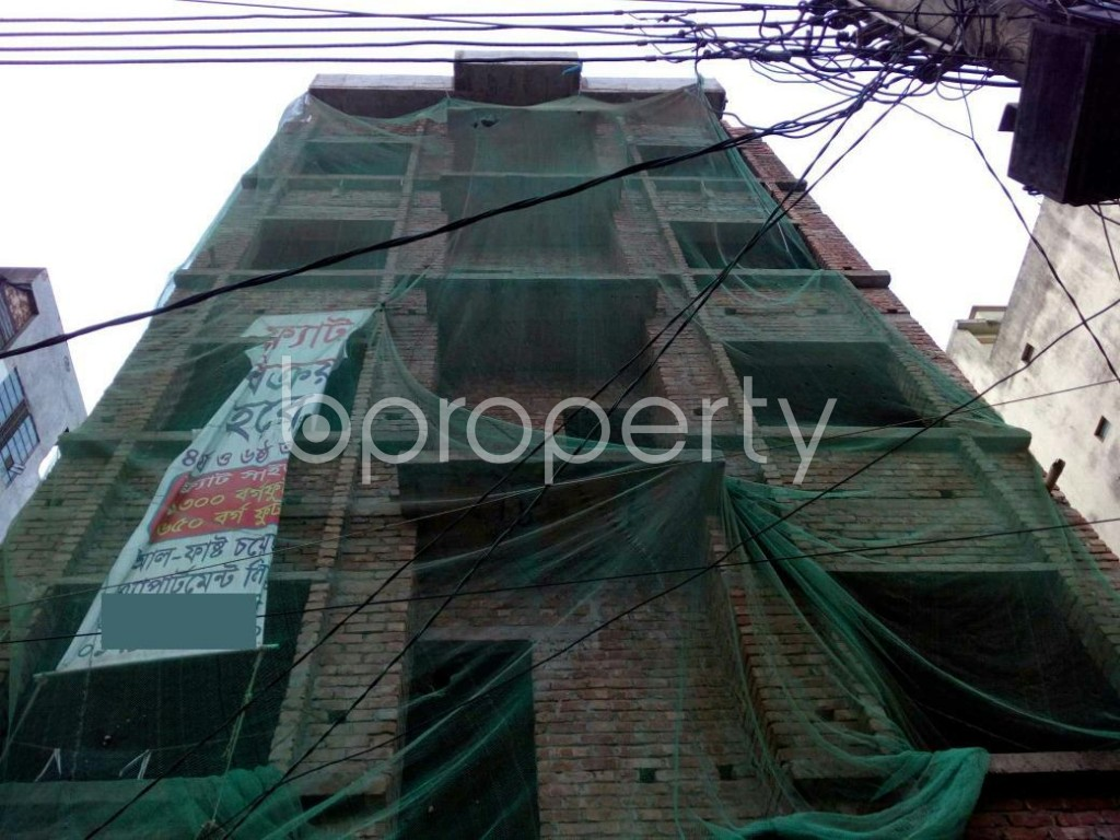 Front view - 2 Bed Apartment for Sale in Mirpur, Dhaka - 1917123