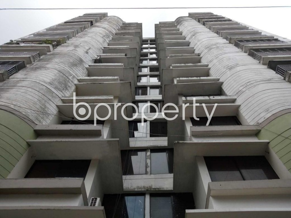 Front view - 3 Bed Apartment for Sale in Uttara, Dhaka - 1916977