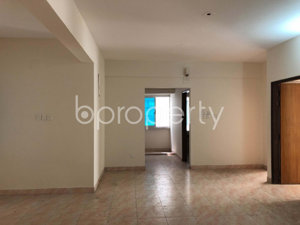 Empty Room - 3 Bed Apartment for Sale in Bashundhara R-A, Dhaka - 1687772