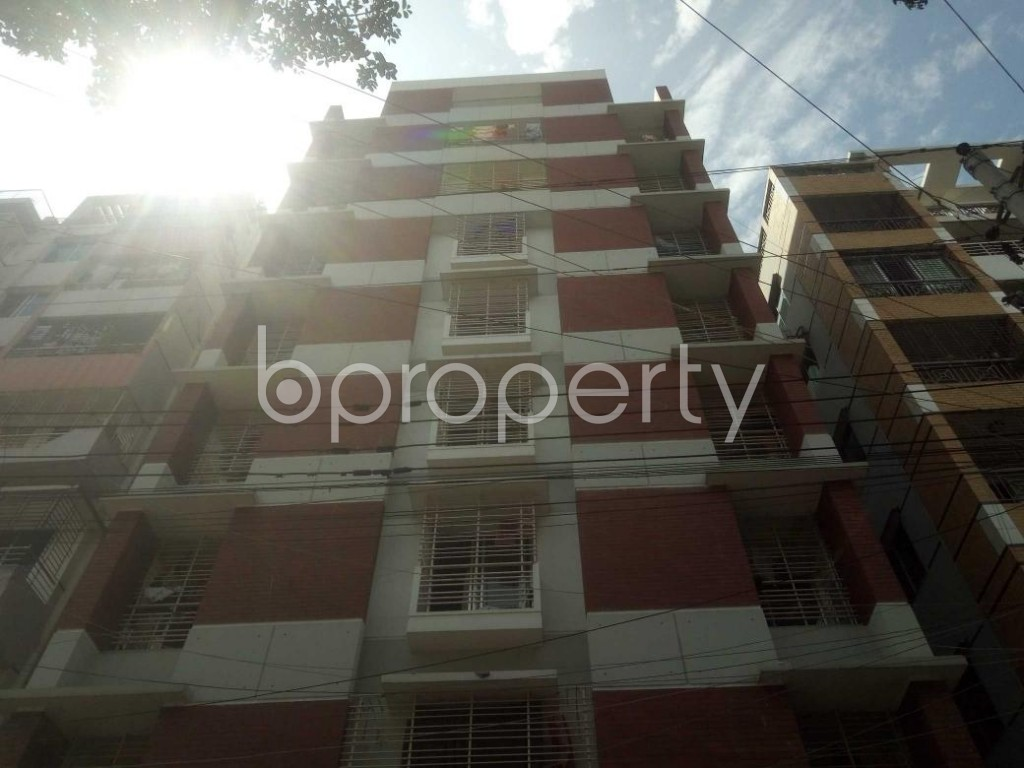 Front view - 3 Bed Apartment for Sale in Mirpur, Dhaka - 1917142