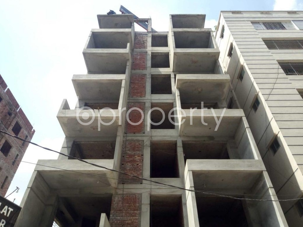 Front view - 4 Bed Duplex for Sale in Uttara, Dhaka - 1917311