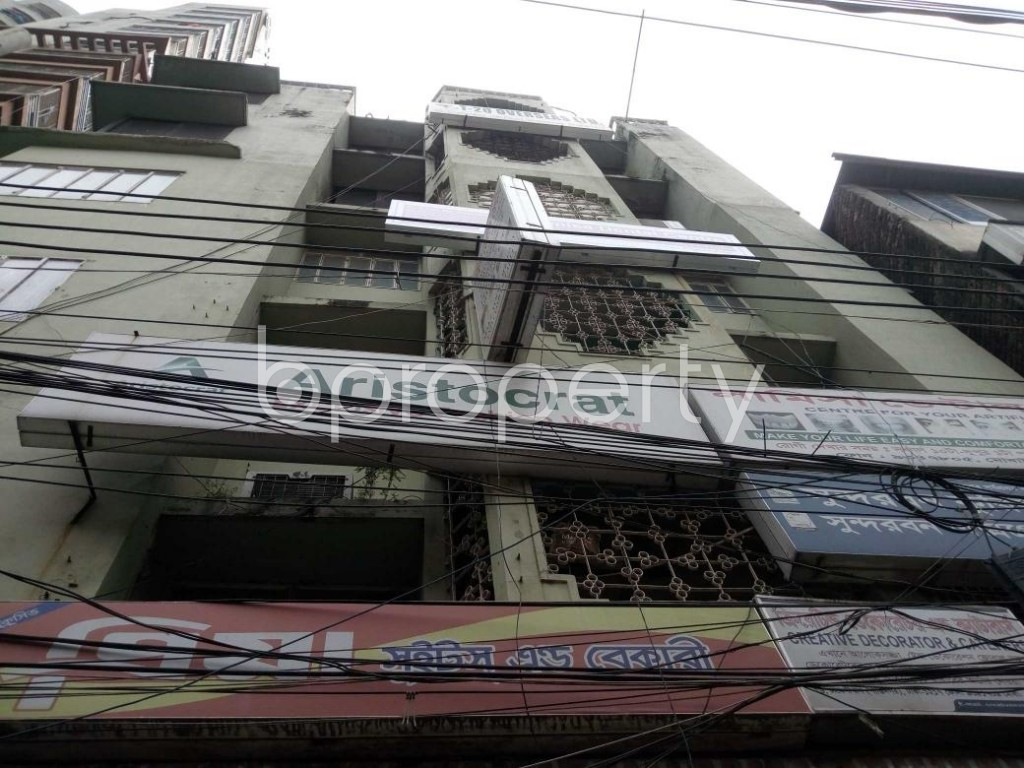 Front view - Office to Rent in Shantinagar, Dhaka - 1917069