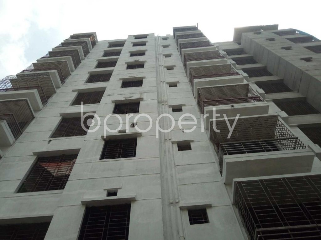 Front view - 3 Bed Apartment for Sale in Dhanmondi, Dhaka - 1917535