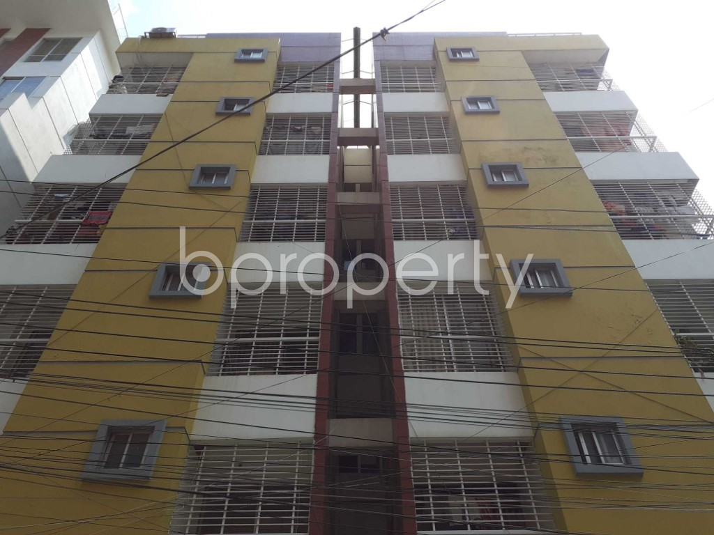 Front view - 3 Bed Apartment for Sale in Mirpur, Dhaka - 1917537