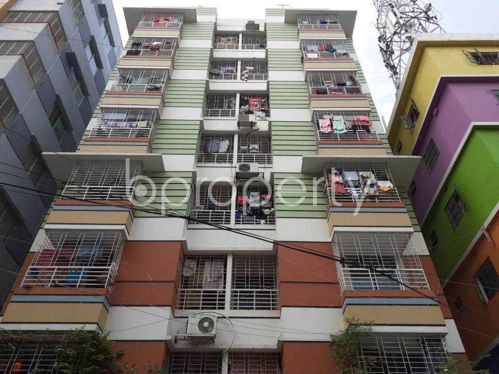 Front view - 3 Bed Apartment for Sale in Mirpur, Dhaka - 1917581