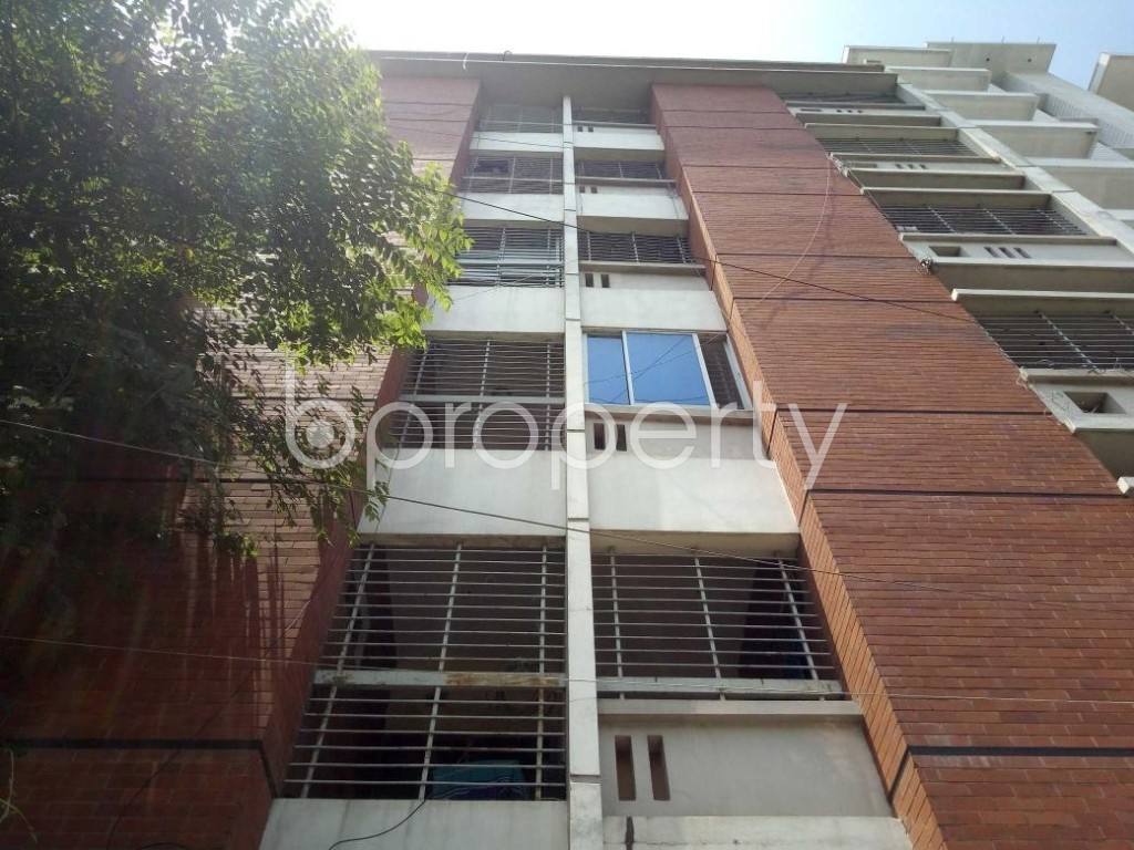 Front view - 3 Bed Apartment for Sale in Uttara, Dhaka - 1917644