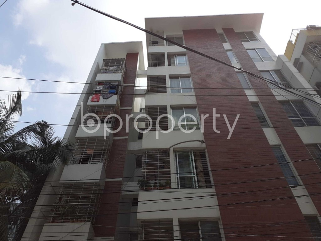Front view - 3 Bed Apartment for Sale in Mirpur, Dhaka - 1917710