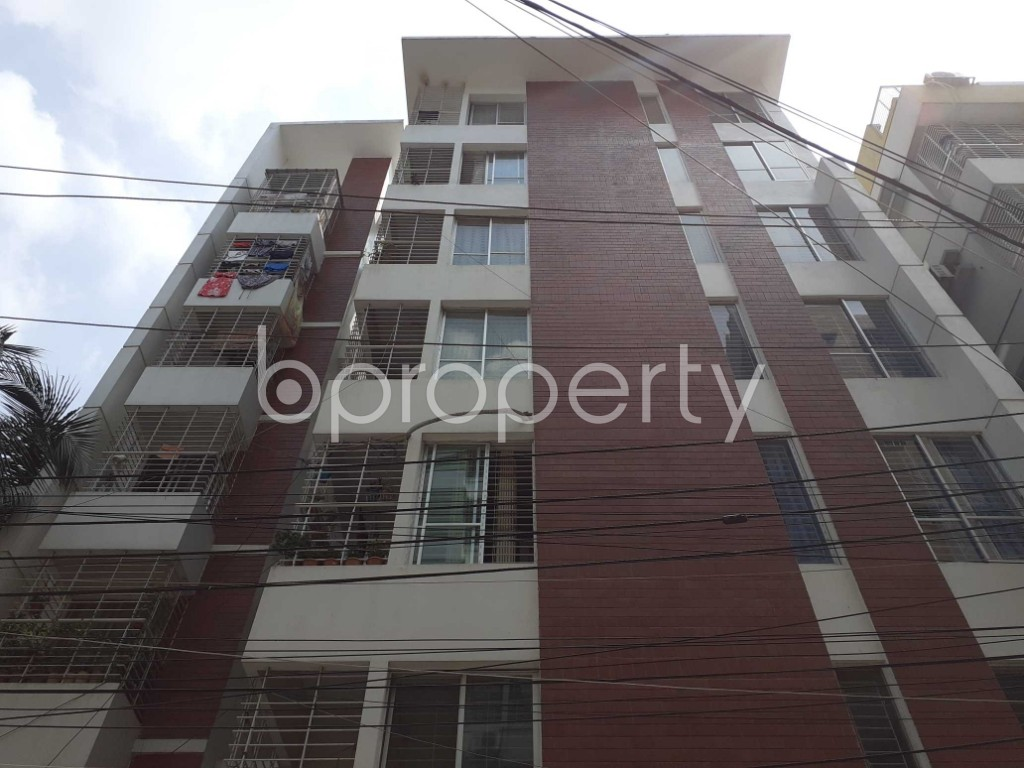 Front view - 3 Bed Apartment for Sale in Mirpur, Dhaka - 1917712