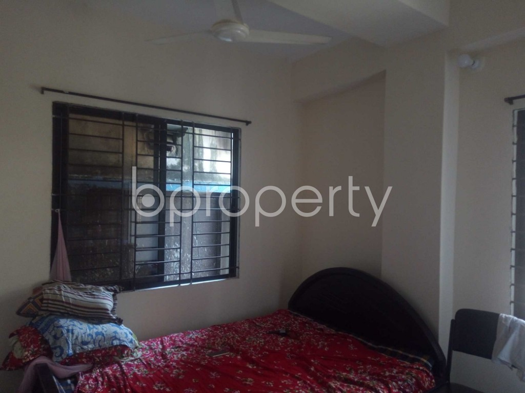 Bedroom - 2 Bed Apartment for Sale in Maghbazar, Dhaka - 1917738