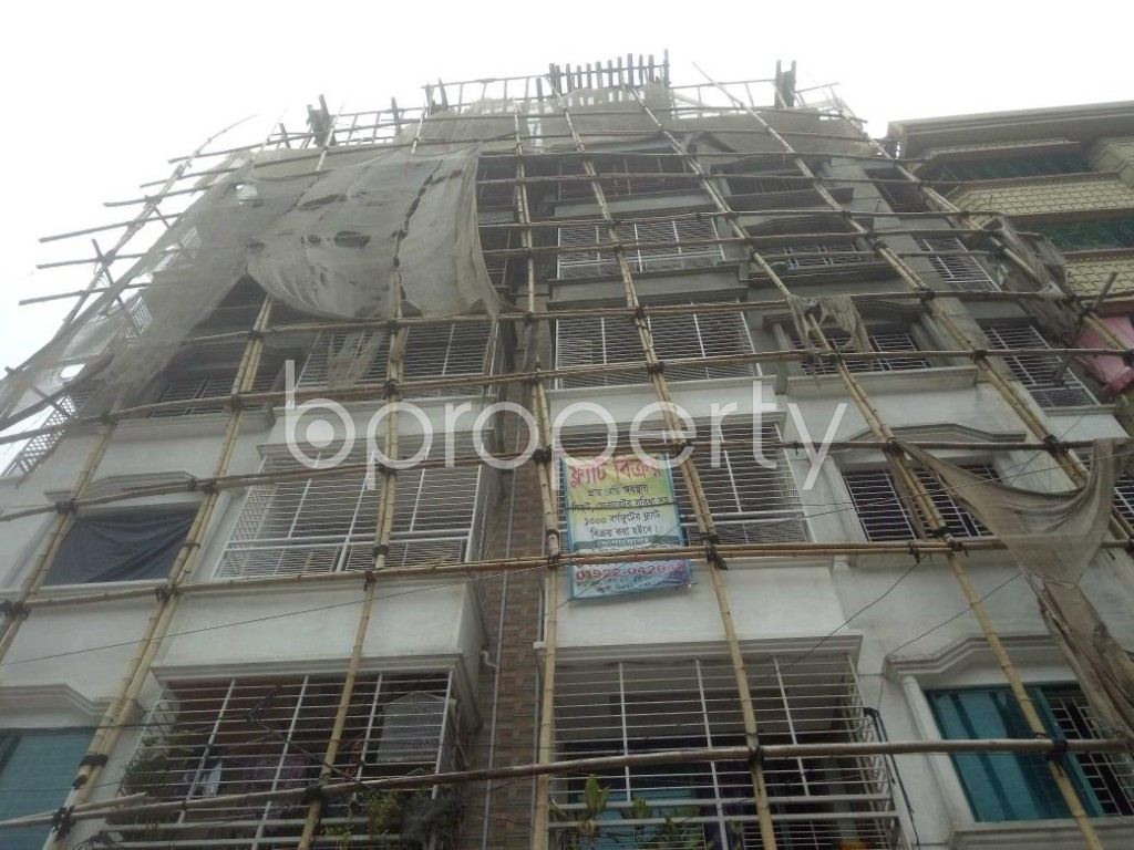 Front view - 4 Bed Apartment for Sale in Mirpur, Dhaka - 1917982