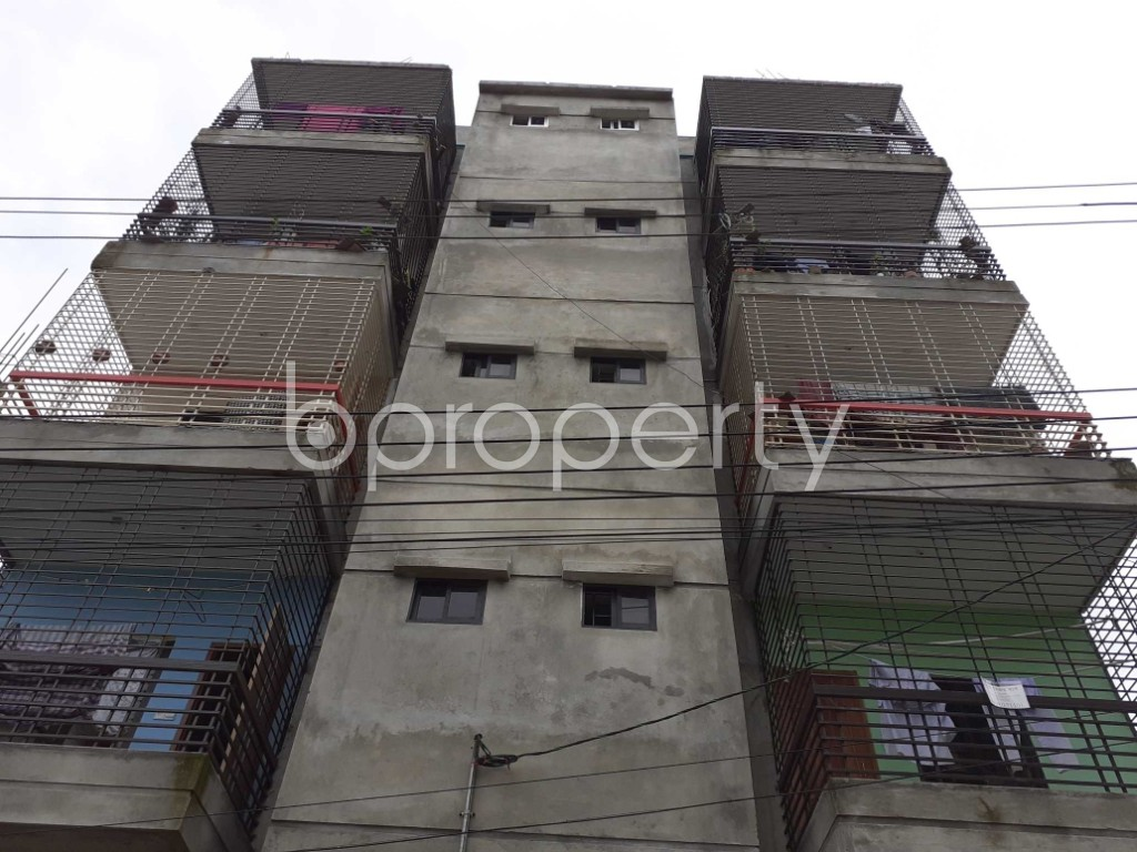 Front view - 2 Bed Apartment for Sale in Mirpur, Dhaka - 1917996
