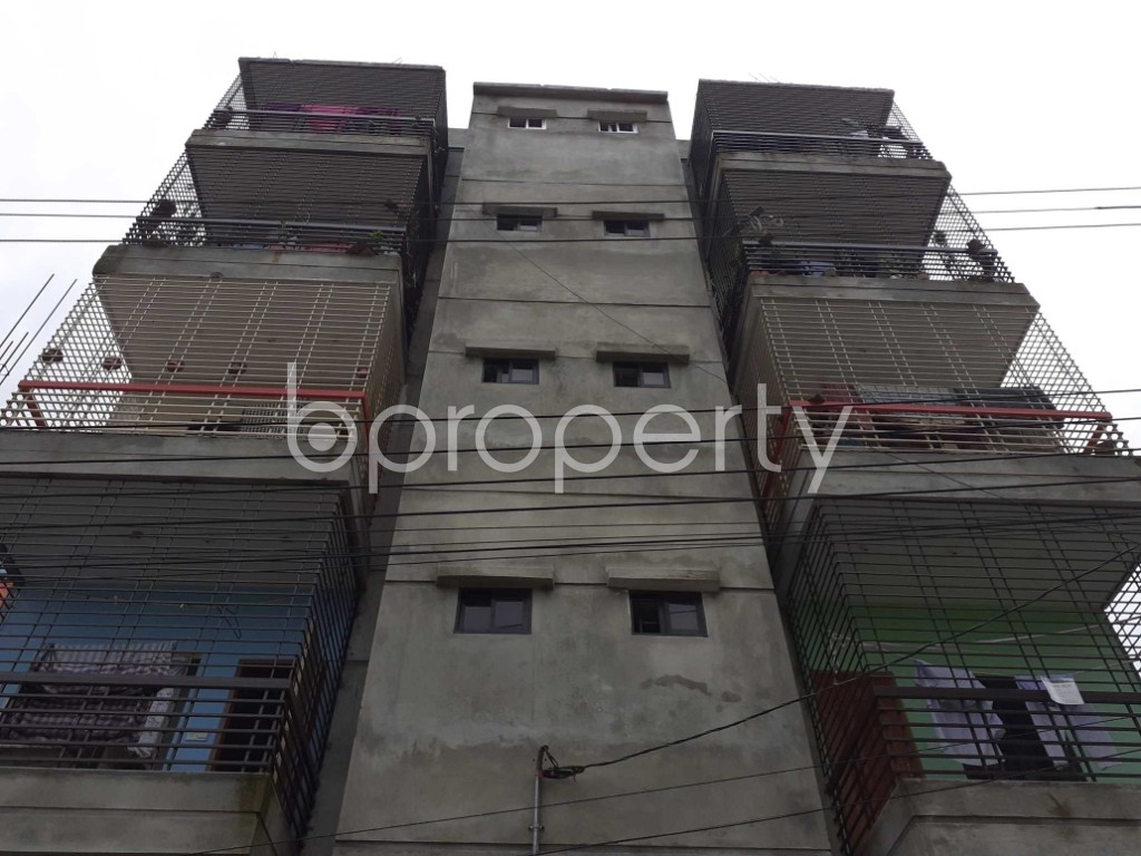 Front view - 2 Bed Apartment for Sale in Mirpur, Dhaka - 1917998