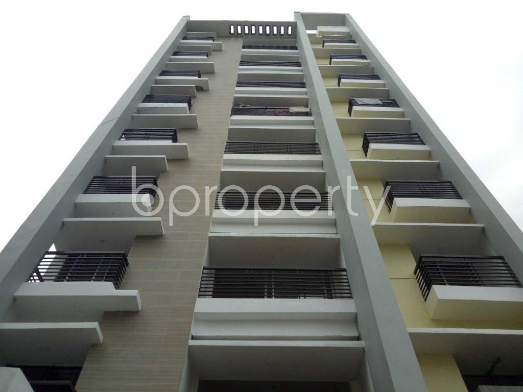 Front view - 3 Bed Apartment for Sale in Uttara, Dhaka - 1918086
