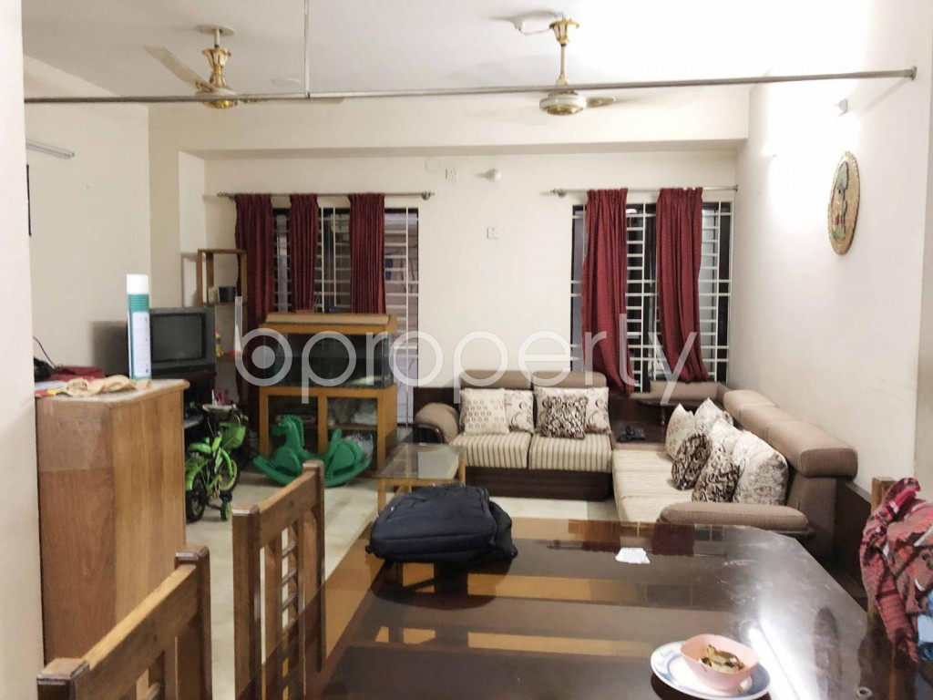 Dining area - 3 Bed Apartment for Sale in Uttara, Dhaka - 1916702