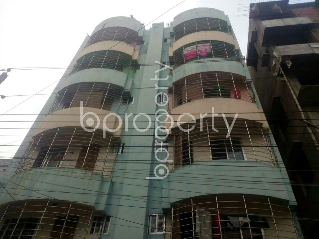 Front view - 2 Bed Apartment for Sale in Uttara, Dhaka - 1918398