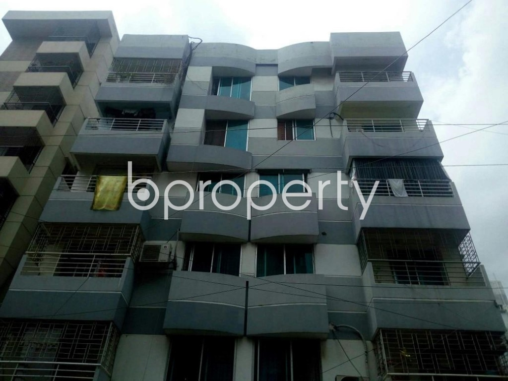 Front view - 3 Bed Apartment for Sale in Uttara, Dhaka - 1918444