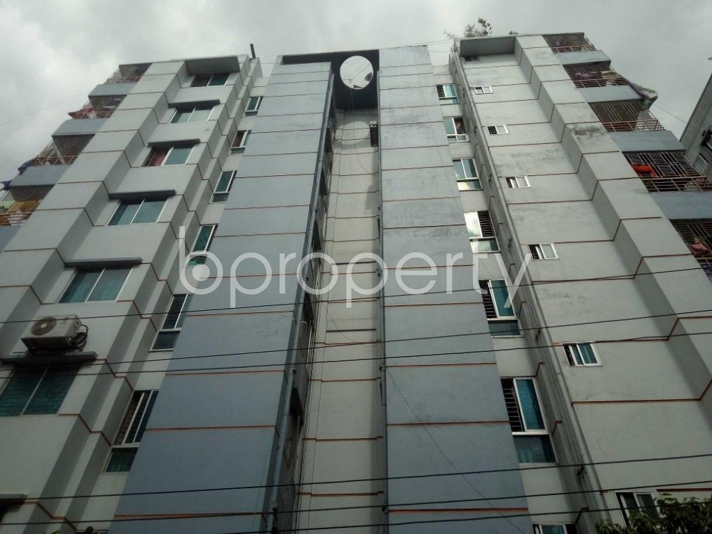 Front view - 2 Bed Apartment for Sale in Mirpur, Dhaka - 1918532