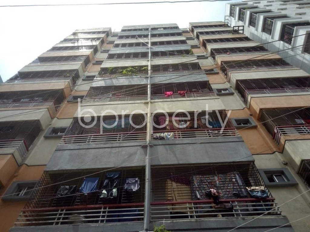 Front view - 3 Bed Apartment for Sale in Mirpur, Dhaka - 1918546
