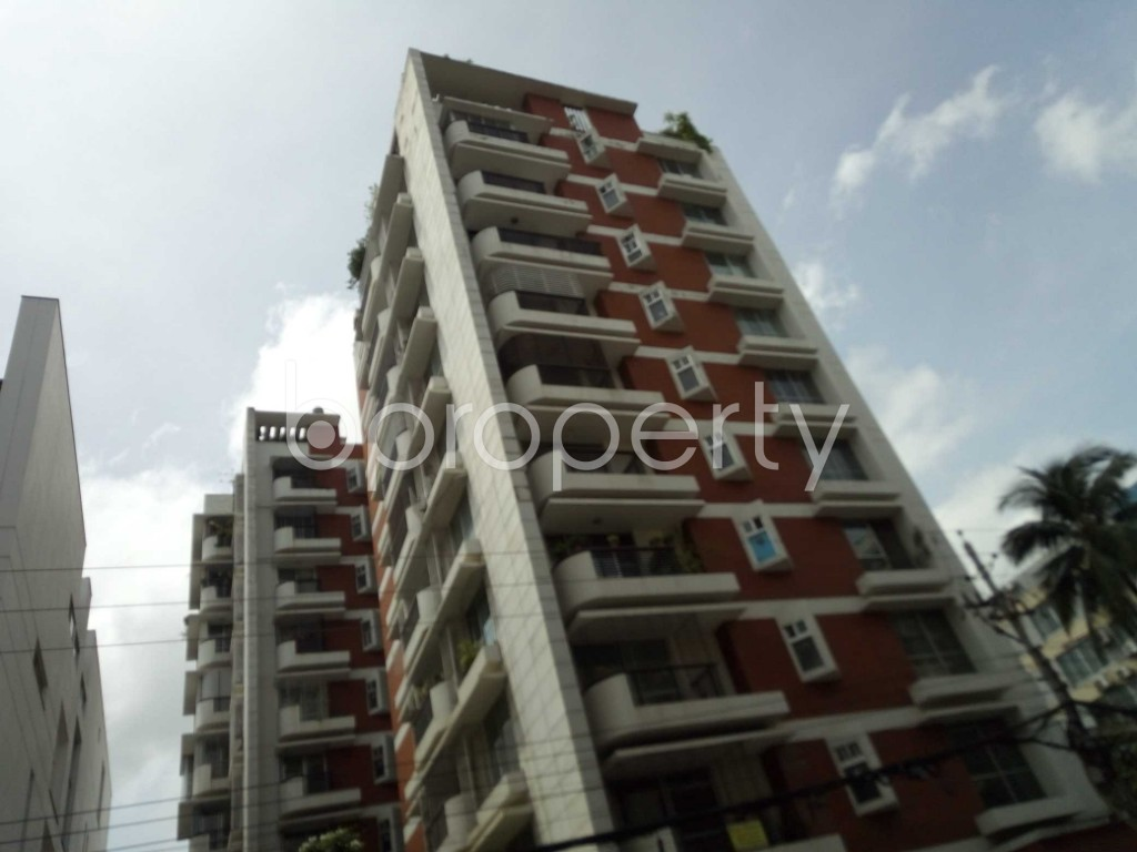 Outside view - 4 Bed Apartment to Rent in Banani, Dhaka - 1918605