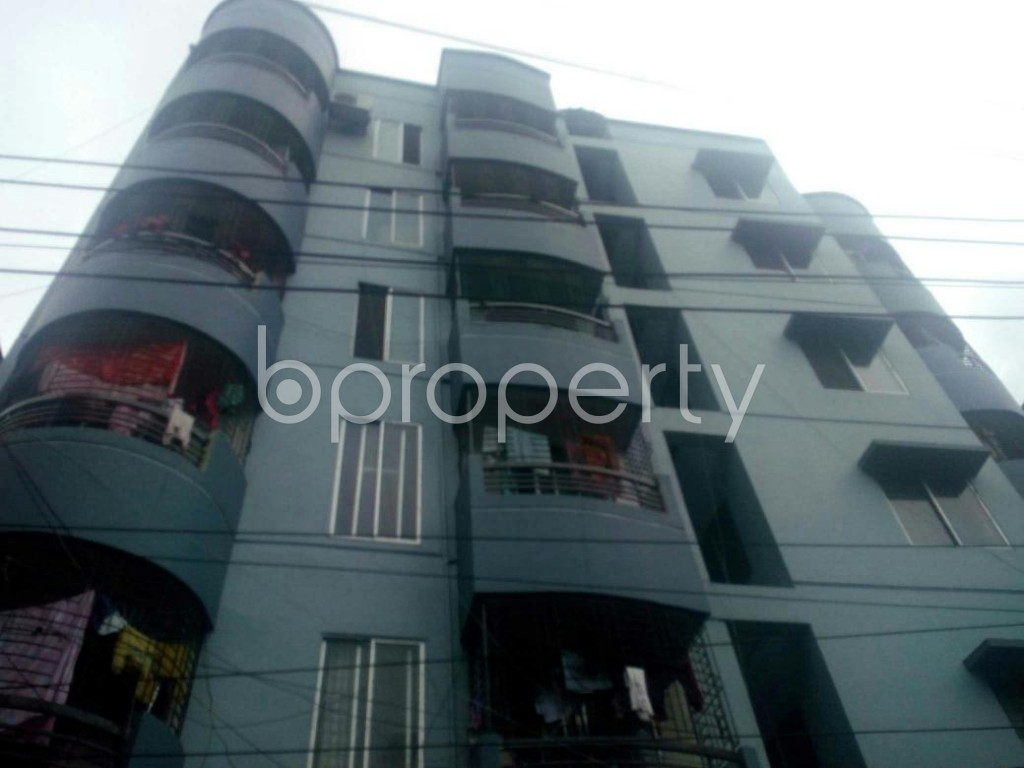 Front view - 3 Bed Apartment for Sale in Tejgaon, Dhaka - 1918635