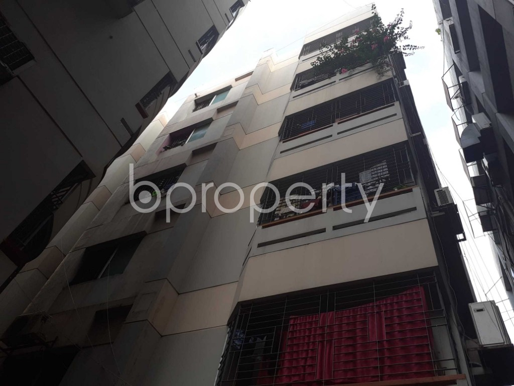 Front view - 3 Bed Apartment for Sale in Dhanmondi, Dhaka - 1918786