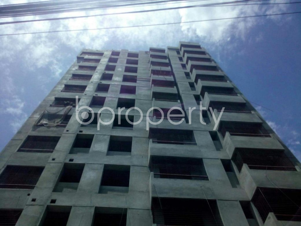 Front view - 3 Bed Apartment for Sale in Kandirpar, Cumilla - 1918405