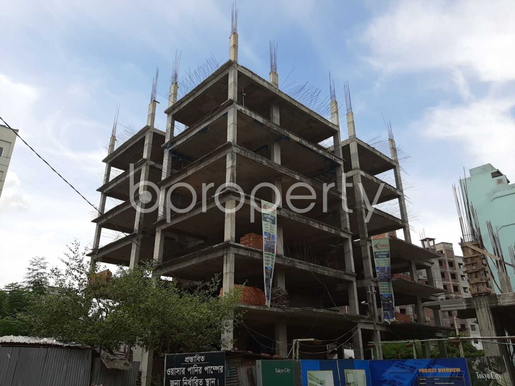 Outside view - 3 Bed Apartment for Sale in Uttara, Dhaka - 1918893