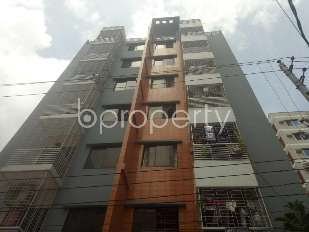 Front view - 3 Bed Apartment for Sale in Mirpur, Dhaka - 1919105