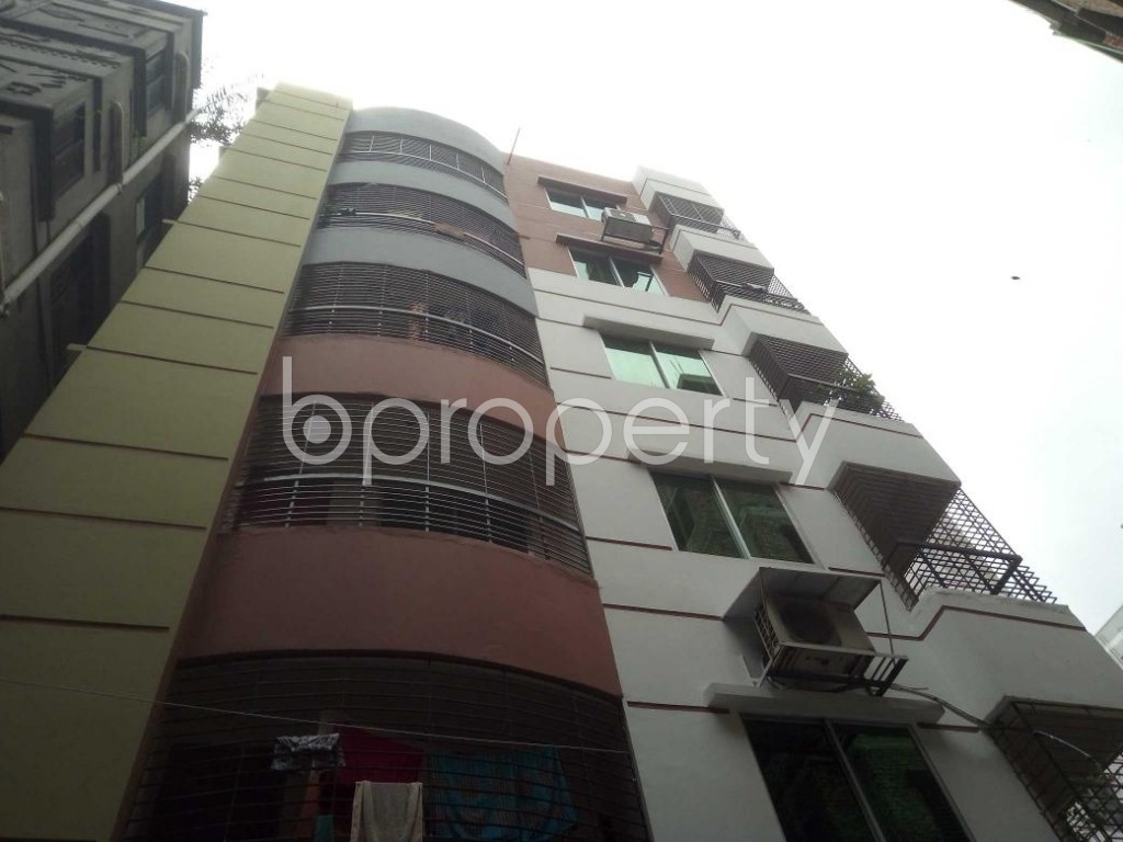 Front view - 3 Bed Apartment for Sale in Mirpur, Dhaka - 1919106