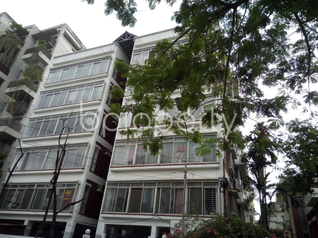 Outside view - 3 Bed Apartment to Rent in Banani, Dhaka - 1919149