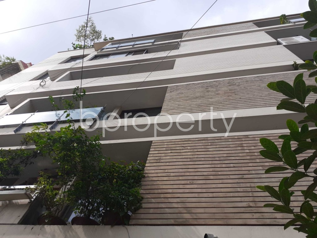 Front view - 3 Bed Apartment to Rent in Gulshan, Dhaka - 1919188