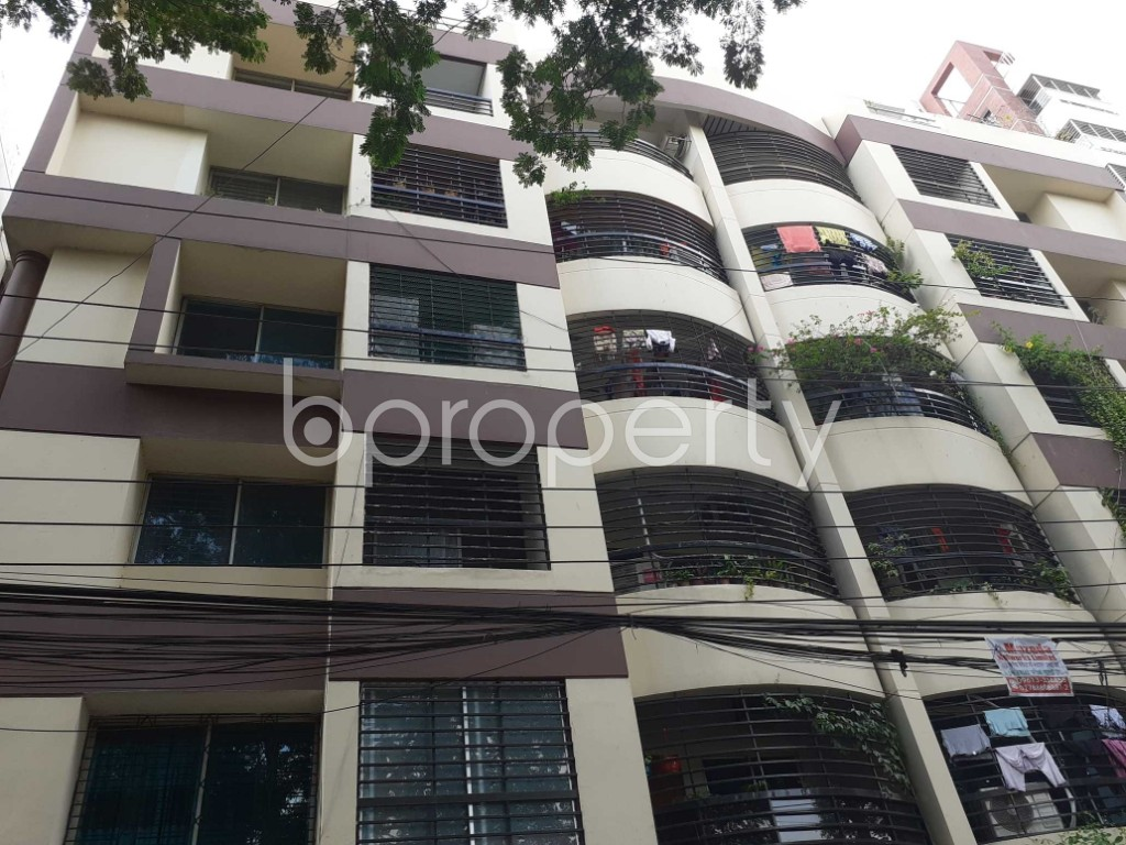Front view - 3 Bed Apartment for Sale in Dhanmondi, Dhaka - 1919259