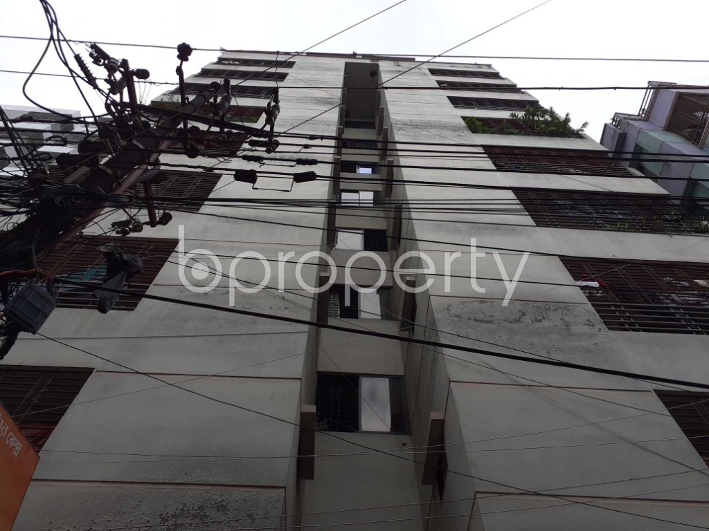 Front view - 3 Bed Apartment for Sale in Mirpur, Dhaka - 1919543