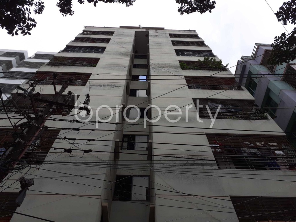 Front view - 3 Bed Apartment for Sale in Mirpur, Dhaka - 1919544