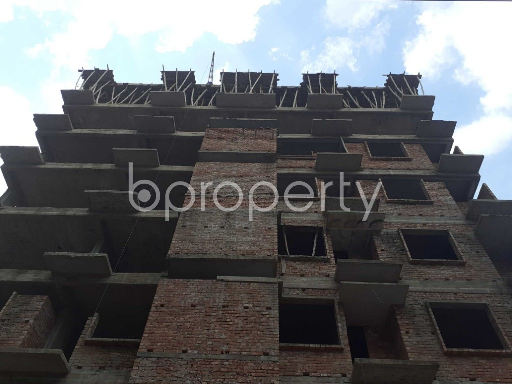 Front view - 3 Bed Apartment for Sale in Mohammadpur, Dhaka - 1919578