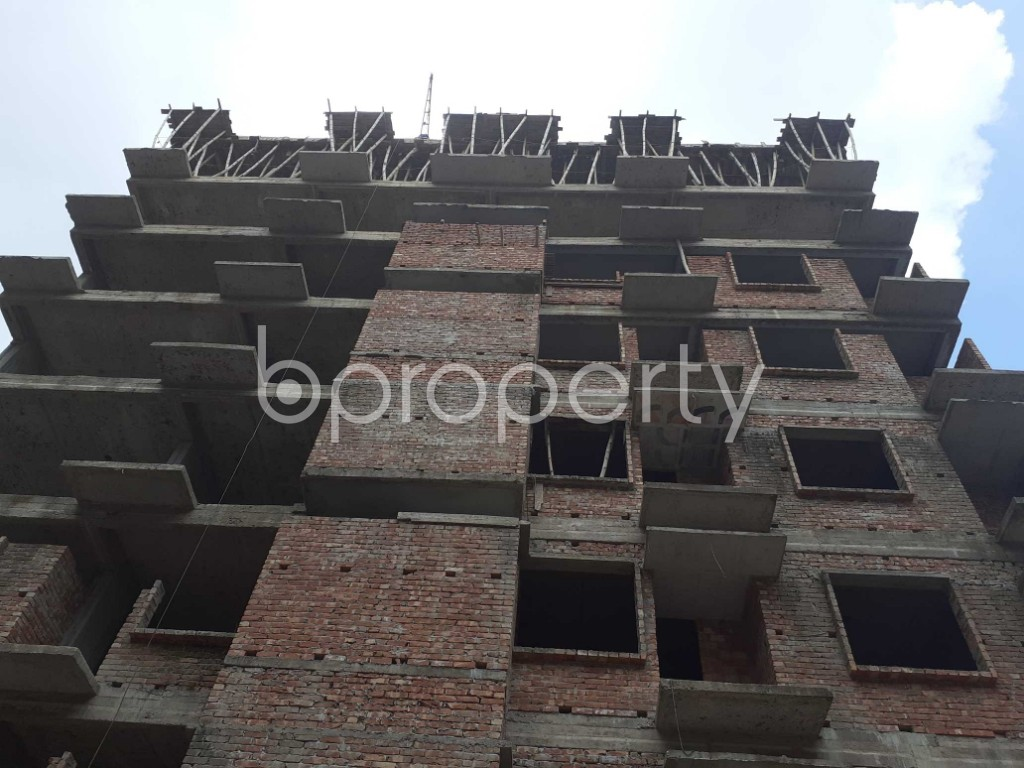Front view - 3 Bed Apartment for Sale in Mohammadpur, Dhaka - 1919580