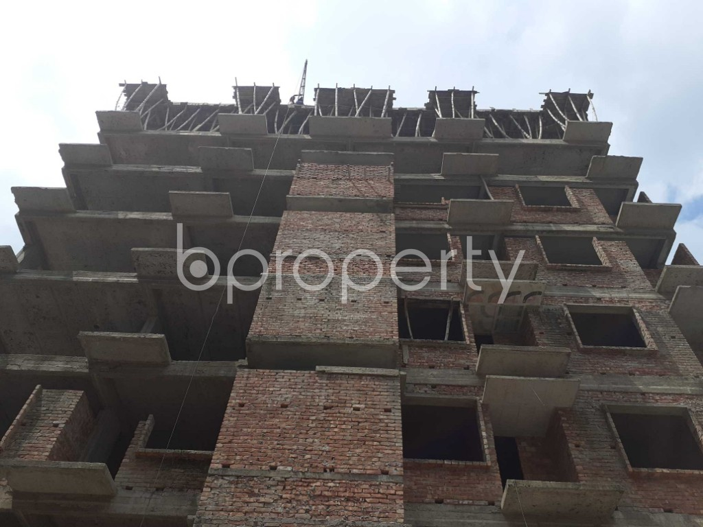 Front view - 3 Bed Apartment for Sale in Mohammadpur, Dhaka - 1919581