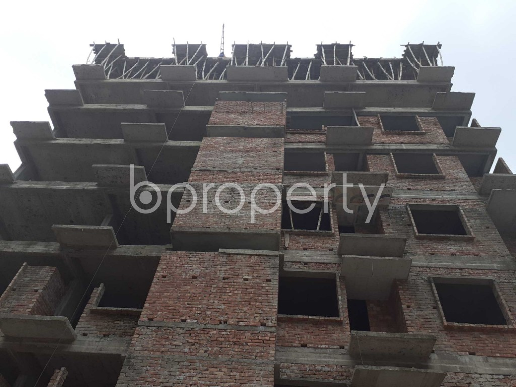 Front view - 3 Bed Apartment for Sale in Mohammadpur, Dhaka - 1919582
